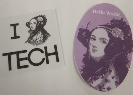 Ada Lovelace Day Stickers